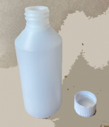 250 ml natural round plastic bottle - Pallet of 1600